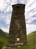 Toren op de heuvel Royalty-vrije Stock Foto's