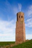 Toren op dijk Stock Foto's