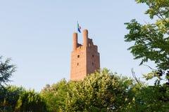 Toren in San-miniato Stock Afbeeldingen