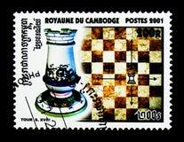 Toren, Schaak serie, circa 2001 Royalty-vrije Stock Afbeeldingen