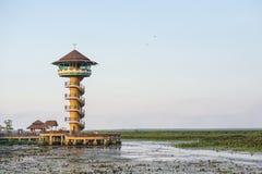 Toren in Thale Noi in Phatthalung, Thailand Stock Foto