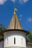Toren van Andronikov-Klooster buitenmuren, Moskou Stock Foto's