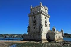 Toren van Belem, Lissabon royalty-vrije stock fotografie