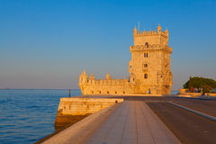 Toren van Belem, Lissabon, Portugal Royalty-vrije Stock Foto's