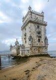 Toren van Belem, Lissabon Portugal Royalty-vrije Stock Afbeeldingen