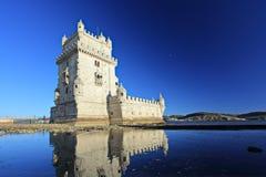 Toren van Belem (Torre DE Belem), Lissabon Royalty-vrije Stock Afbeelding