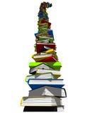 Toren van boeken Royalty-vrije Stock Foto
