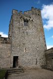 Toren van Cahir-Kasteel in Ierland Stock Foto's