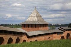 Toren van Conceptie in Nizhny Novgorod Rusland royalty-vrije stock foto