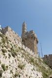 Toren van David - Jeruzalem Royalty-vrije Stock Foto's