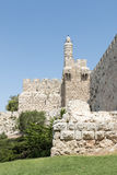 Toren van David - Jeruzalem Stock Afbeelding