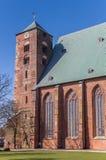 Toren van de Dom kathedraal in Verden royalty-vrije stock foto's