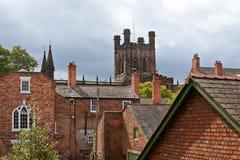 Toren van de Gotische Kathedraal royalty-vrije stock foto's