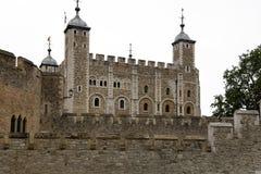 Toren van de historische bouw van Londen in Engeland Stock Afbeelding