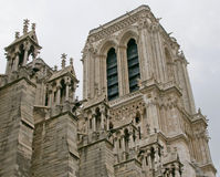 Toren van de Kathedraal van Notre Dame Royalty-vrije Stock Fotografie