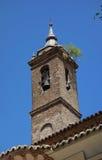 Toren van de kerk van San Nicolas Stock Foto's