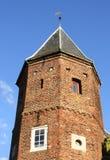 Toren van de Koppelpoort Amersfoort Images libres de droits