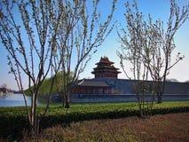 Toren van de Poort van de Stad van China de Peking Verboden Stock Afbeelding