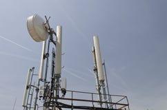 Toren van een antenne Stock Afbeeldingen