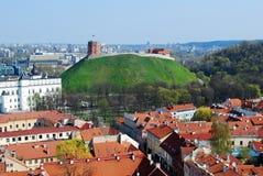 Toren van Gediminas - Symbool van Vilnius royalty-vrije stock fotografie