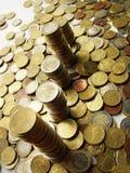 Toren van geld royalty-vrije stock afbeelding