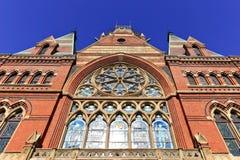 Toren van HerdenkingsZaal op de Universiteit van Harvard Stock Afbeelding
