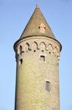Toren van het Gruuthuse-Paleis; Brugge, België royalty-vrije stock afbeeldingen
