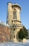 Toren van het kasteel Laxenburg in Oostenrijk Royalty-vrije Stock Afbeelding
