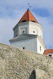 Toren van het Kasteel van Bratislava Stock Foto
