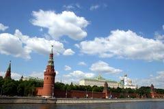 Toren van het Kremlin. Moskou. Stock Foto's
