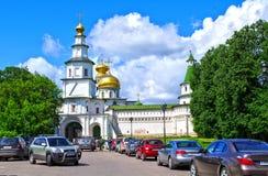 Toren van het Nieuwe klooster van Jeruzalem in Istra, Moskou Royalty-vrije Stock Foto's