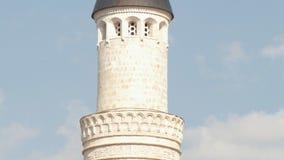 Toren van Islamitische Moslimmoskee - panschot stock videobeelden