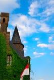 Toren van Kasteel Cochem Royalty-vrije Stock Foto's