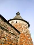 Toren van Klooster Solovetsky Stock Foto's