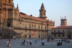 Toren van La-Velum - Santiago de Compostela stock fotografie