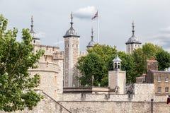 Toren van Londen Engeland Royalty-vrije Stock Foto's