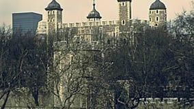 Toren van Londen stock footage