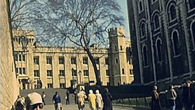 Toren van Londen stock videobeelden