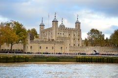 Toren van Londen, Londen, het UK Royalty-vrije Stock Afbeelding
