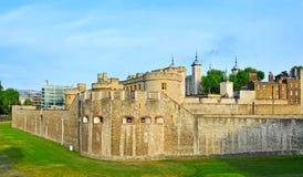 Toren van Londen, in Londen, het Verenigd Koninkrijk Stock Afbeeldingen