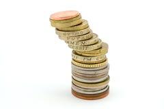 Toren van muntstuk Royalty-vrije Stock Afbeelding