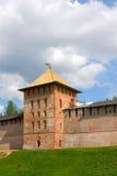 Toren van Novgorod het Kremlin stock foto