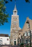 Toren van onze Dame in Gouda, Holland Royalty-vrije Stock Foto