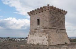 Toren van Rigenas, Larnaca Cyprus Stock Afbeelding