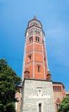 Toren van Royal Palace (XII eeuw), Milaan, Italië Royalty-vrije Stock Foto