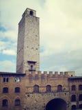Toren van San Gimignano royalty-vrije stock fotografie
