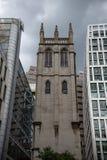 Toren van St Albans Kerk stock afbeelding