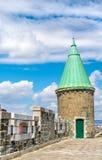 Toren van St John Gate in de Stad van Quebec, Canada Royalty-vrije Stock Fotografie