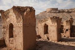 Toren van stilte, yazd, Iran Stock Afbeeldingen