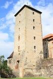 Toren van Svihov-kasteel Stock Afbeeldingen
